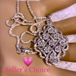 Jewelry - ** SOLD ** Stunning Medallion .925 SS